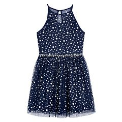 Girls 7-16 IZ Amy Byer Foil Star Dress
