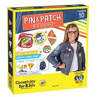 Creativity For Kids Pin & Patch Studio