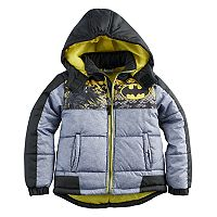 Boys 4-7 DC Comics Batman Quilted Heavyweight Jacket