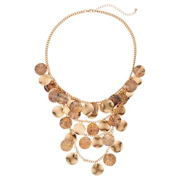 GS by gemma simone Shaky Disc Swag Necklace