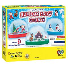 Creativity For Kids Make Your Own Holiday Snowglobe
