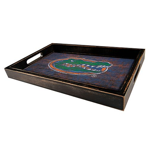 Florida Gators Distressed Serving Tray