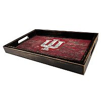 Indiana Hoosiers Distressed Serving Tray