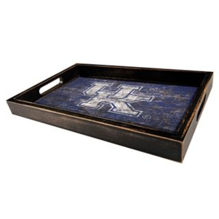 Kentucky Wildcats Distressed Serving Tray