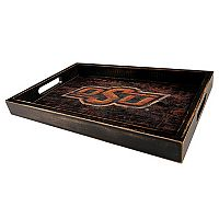 Oklahoma State Cowboys Distressed Serving Tray