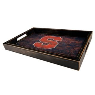 Syracuse Orange Distressed Serving Tray