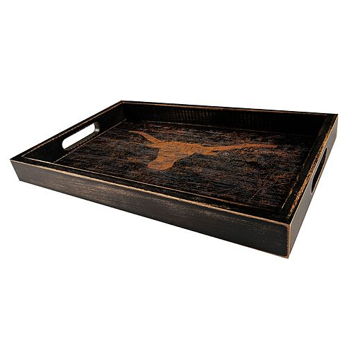 Texas Longhorns Distressed Serving Tray