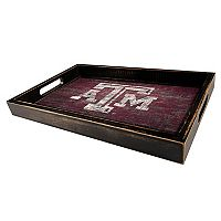 Texas A&M Aggies Distressed Serving Tray