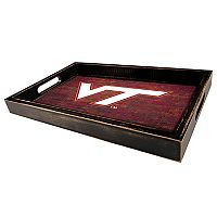 Virginia Tech Hokies Distressed Serving Tray