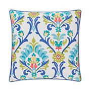 37 West Palmetto Floral Throw Pillow