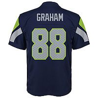 Boys 8-20 Seattle Seahawks Jimmy Graham Replica Jersey