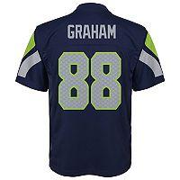 Boys 8-20 Seattle Seahawks Jimmy Graham Replica Jersey