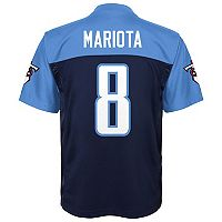 Boys 8-20 Tennessee Titans Marcus Mariota Replica Jersey