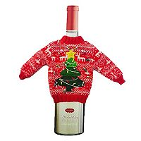St. Nicholas Square® Ugly Sweater Wine Bottle Cover