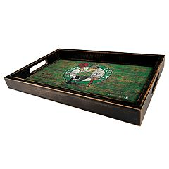 Boston Celtics Distressed Serving Tray