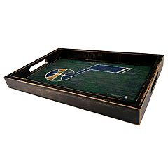 Utah Jazz Distressed Serving Tray