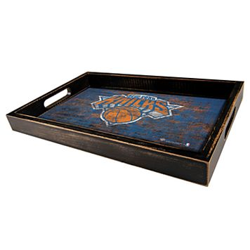 New York Knicks Distressed Serving Tray