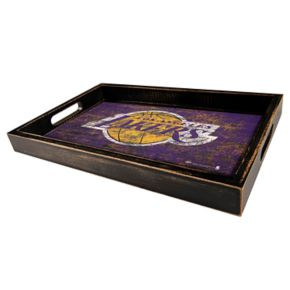 Los Angeles Lakers Distressed Serving Tray