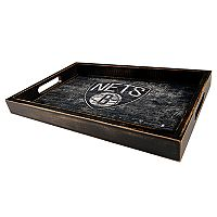 Brooklyn Nets Distressed Serving Tray