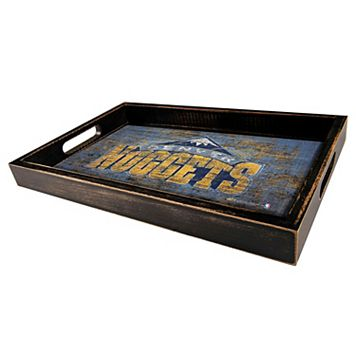 Denver Nuggets Distressed Serving Tray