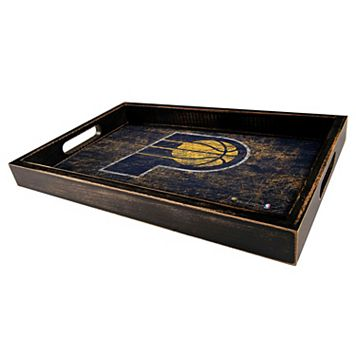 Indiana Pacers Distressed Serving Tray