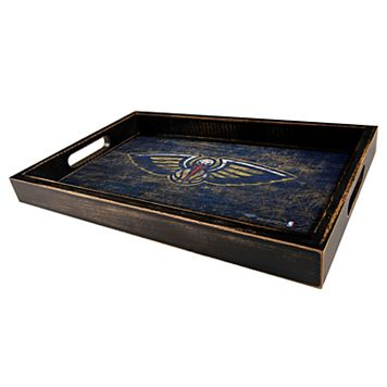 New Orleans Pelicans Distressed Serving Tray