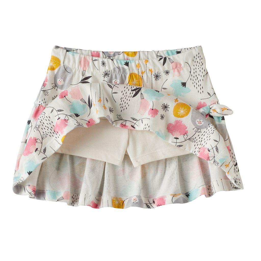 Toddler Girl Jumping Beans® Print Tulip-Hem Skort