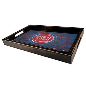 Detroit Pistons Distressed Serving Tray