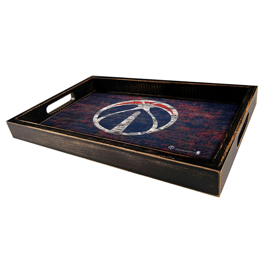 Washington Wizards Distressed Serving Tray