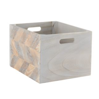 Simple Concepts Wood Bin