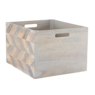 Simple Concepts Wood Bin