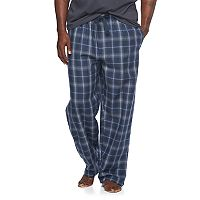 Big & Tall Van Heusen Plaid Flannel Lounge Pants