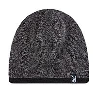 Men's Heat Holders Flat-Knit Contrast-Trim Beanie