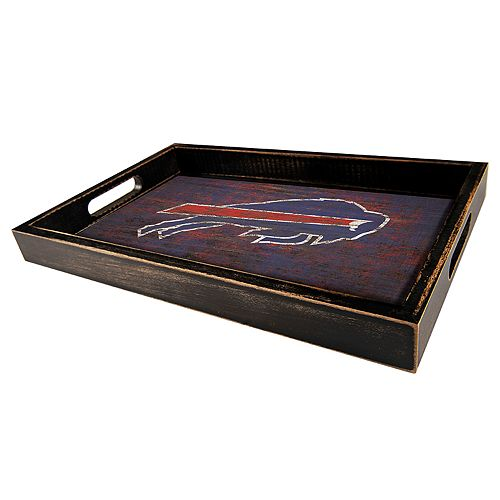Buffalo Bills Distressed Serving Tray
