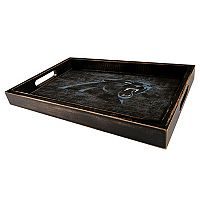 Carolina Panthers Distressed Serving Tray