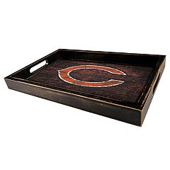Chicago Bears Distressed Serving Tray