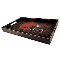 Cleveland Browns Distressed Serving Tray