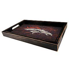 Denver Broncos Distressed Serving Tray
