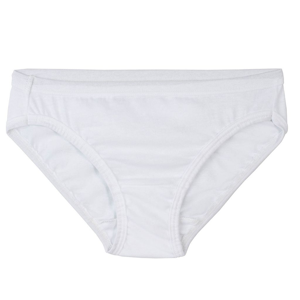 Girls 4-14 Fruit of the Loom 9-pk. Bikini Panties