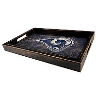 Los Angeles Rams Distressed Serving Tray