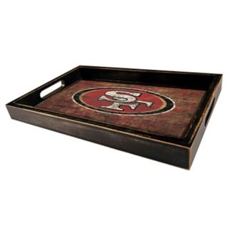 San Francisco 49ers Distressed Serving Tray