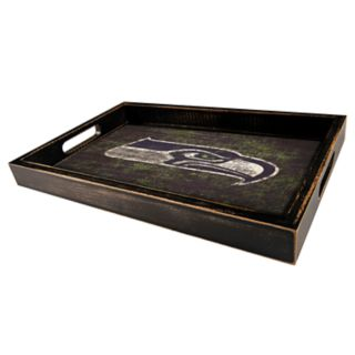 Seattle Seahawks Distressed Serving Tray
