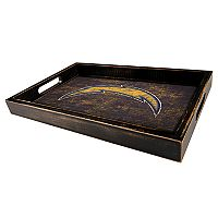 Los AngelesChargers Distressed Serving Tray