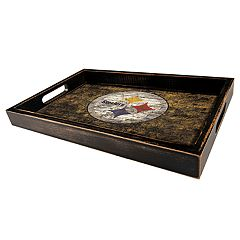 Pittsburgh Steelers Distressed Serving Tray