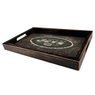 New York Jets Distressed Serving Tray