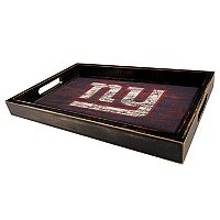 New York Giants Distressed Serving Tray