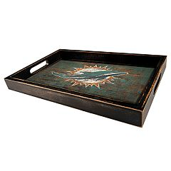Miami Dolphins Distressed Serving Tray