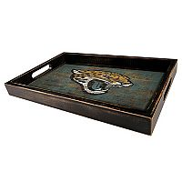 Jacksonville Jaguars Distressed Serving Tray