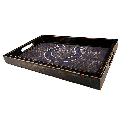 Indianapolis Colts Distressed Serving Tray