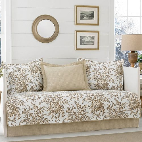 Laura Ashley Lifestyles 3-piece Bedford Daybed Set